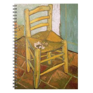 Chair of Van Gogh Notebooks