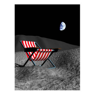 Chair on the Moon Postcard