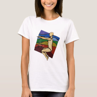 Chair Pose T shirt