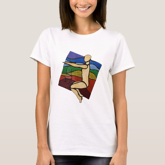 Chair Pose T shirt
