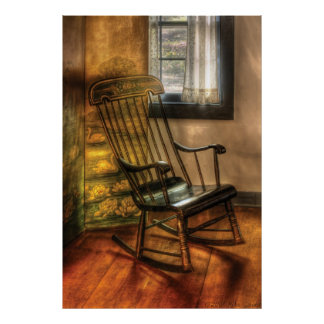Chair - The rocking chair Poster