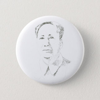 Chairman Mao China 2 Inch Round Button