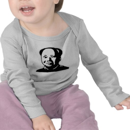 """Chairman Mao"" Infant Long Sleeve T Shirts"