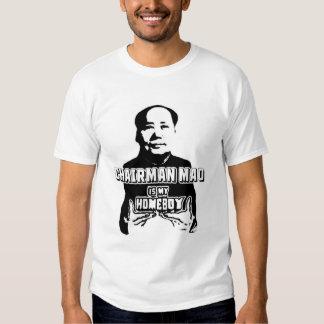 Chairman Mao is My Homeboy Tees