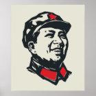 Chairman Mao Portrait Poster