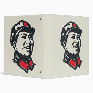 Chairman Mao Portrait Vinyl Binders