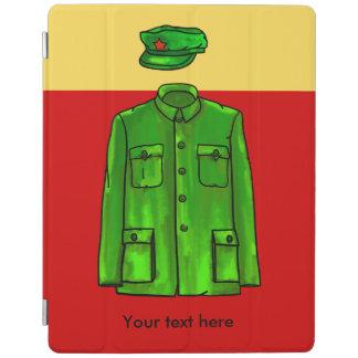 Chairman Mao Zhongshan suit iPad Cover