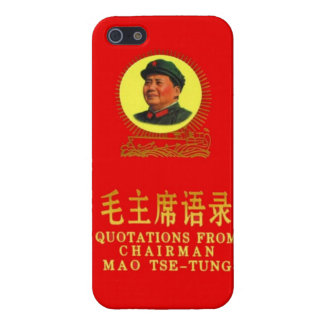 Chairman Mao's Little Red Book iPhone 5 Case