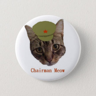 Chairman Meow 2 Inch Round Button