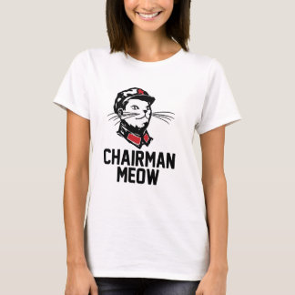 Chairman Meow (Mao) Design T-Shirt