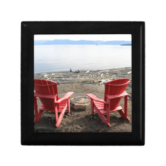 chairs on beach gift box