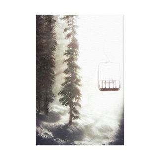 Chairway To Heaven- Stretched Canvas Print