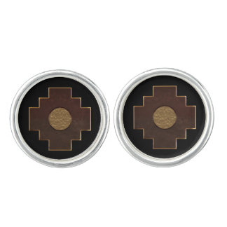 Chakana Cross Cufflinks