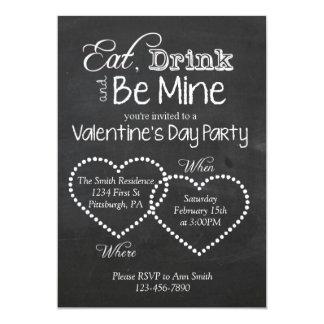 Chakboard Valentine's Day Party Invitation