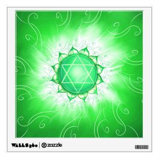 Chakra Anahata. Chakra of the heart Wall Decal