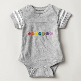 Chakra Baby Football Bodysuit