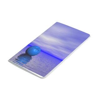 chakra blue and landscape journal
