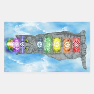 Chakra Cat Sticker