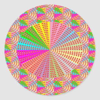 Chakra Circle Sparkle Healing Art by NAVIN JOSHI G Classic Round Sticker