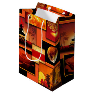 Chakra Collage Medium Gift Bag