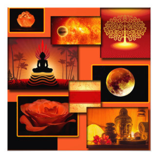 Chakra Collage Photo Print