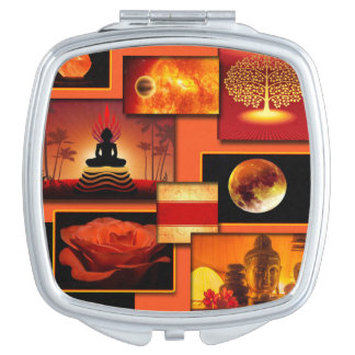Chakra Collage Vanity Mirror