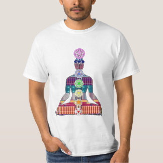 CHAKRA diagram Yoga Meditation Peace NVN630 FUN T-Shirt