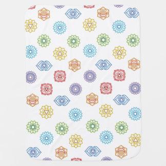 Chakra Energy Baby Blanket