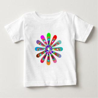 CHAKRA Flower Colorful Cutflower Goodluck Love fun Baby T-Shirt