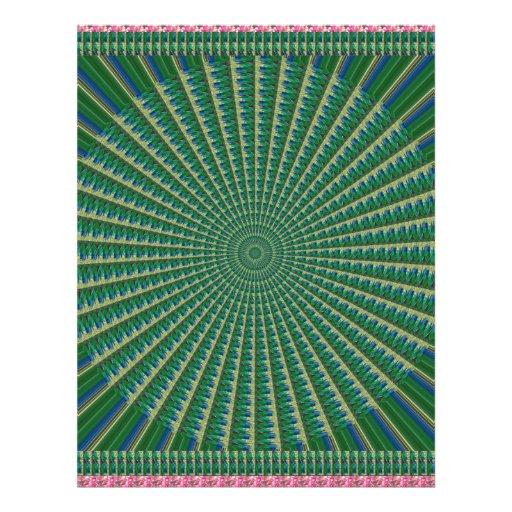 CHAKRA Giveaway Return+Gifts Heart,Green,Peace $$$ Letterhead Design