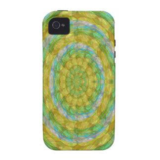 CHAKRA Green Wheel Crystal Beads Stone FUN GIFTS iPhone 4/4S Covers