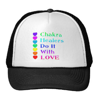 Chakra Healers Do It With Love in Rainbow Colors Trucker Hat