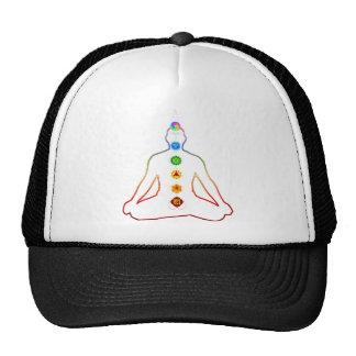 Chakra Healing Mesh Hat