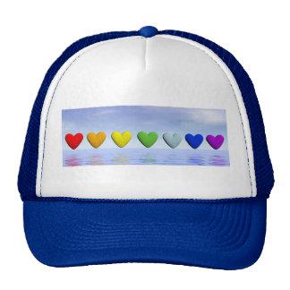 Chakra hearts - 3D render Trucker Hat