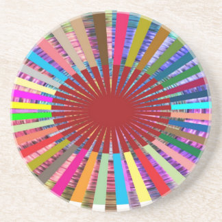 CHAKRA Light Source Meditation Coaster