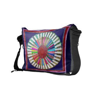 CHAKRA Light Source Meditation Messenger Bags