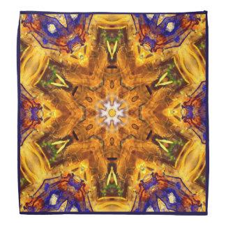 Chakra Mandala Fine Art Sacred Geometry Bandana