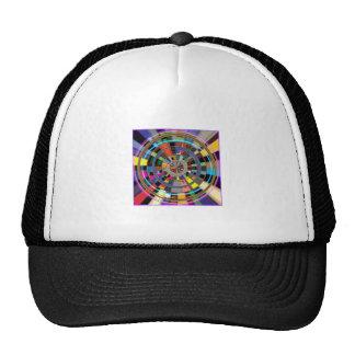 CHAKRA Mandala Wheel Graphic Colorful GIFTS Trucker Hat