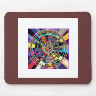 CHAKRA Mandala Wheel Graphic Colorful GIFTS Mouse Pad