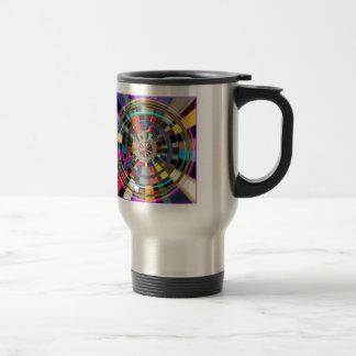 CHAKRA Mandala Wheel Graphic Colorful GIFTS Coffee Mugs
