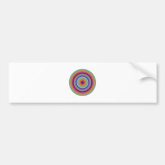 Chakra Meditation Focus Tool Bumper Sticker