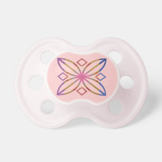 Chakra - Pink Sparkle Baby Pacifier
