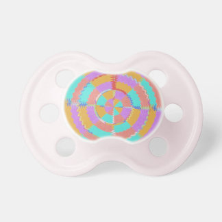 Chakra - Pink Sparkle Bubbles Baloons Baby Pacifier