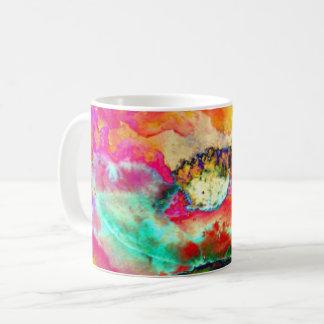 Chakra Poppy Coffee Mug