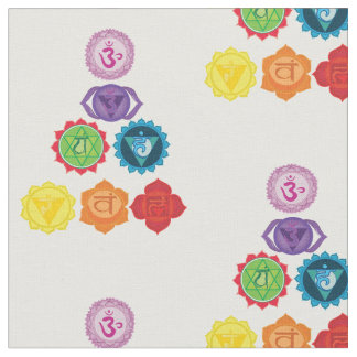 Chakra, Seven Chakras Energy System  Fabric