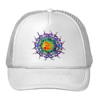 Chakra Sun Cap Trucker Hat