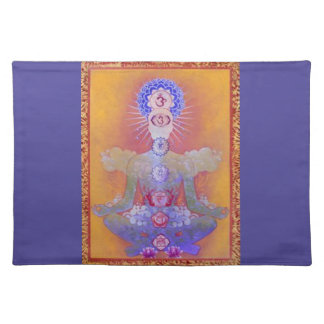 CHAKRA SYSTEM cloth placemat