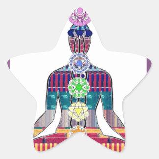 CHAKRA Yoga Meditation Spiritual Healing NVN688 FU Sticker