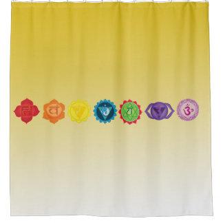 Chakra Yoga Shower Curtain