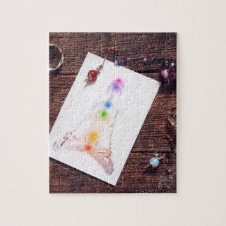chakras and balance jigsaw puzzle